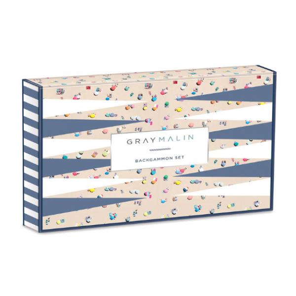 Gray Malin: Beach Backgammon