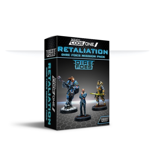Infinity CodeOne: Dire Foes Mission Pack Alpha Retaliation