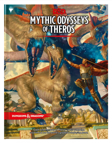 Dungeons and Dragons RPG: Mythic Odysseys of Theros (HC)