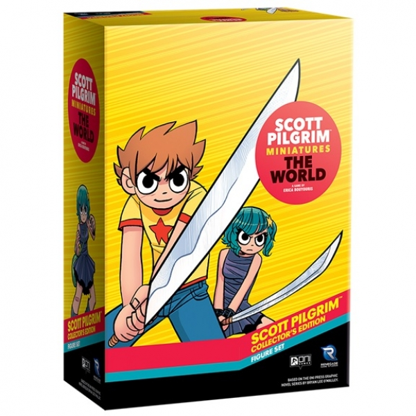Scott Pilgrim Minatures The World: Collector`s Edition Figure Set