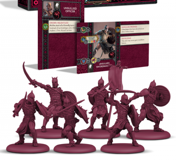 A Song of Ice & Fire: Tabletop Miniatures Game - Targaryen Unsullied Swordsmen Unit Box