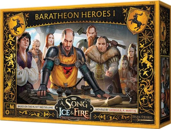 A Song of Ice & Fire: Tabletop Miniatures Game - Baratheon Heroes I