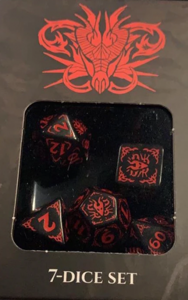 Dragons of the Red Moon Dice Set