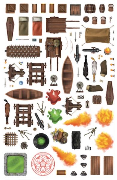 Assortment Sticker Pack (7 sheets)