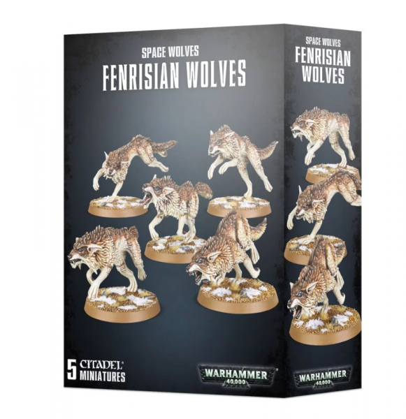 Warhammer 40K: Space Wolves Fenrisian Wolves (2020)