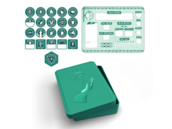 D&D 5th Edition: Player Token Set - Wizard (21 tokens)