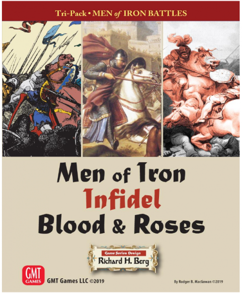Men of Iron Tri-pack: Warfare in the Middle to Late Medieval Era