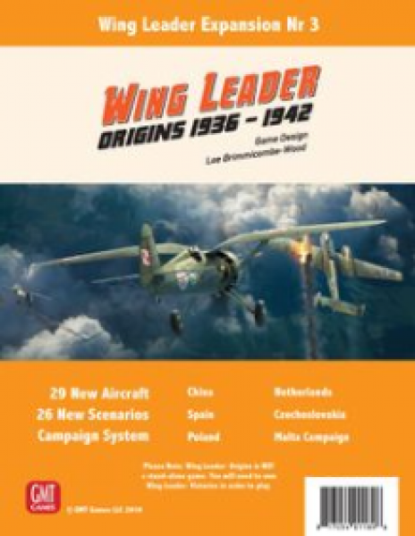 Wing Leader: Victories Origins Expansion