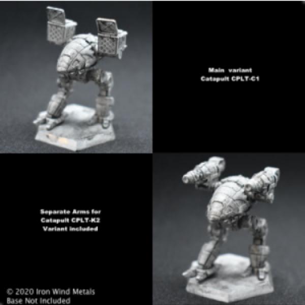 Battletech Miniatures: Catapult CPLT-C1/K2 Mech – 65 Tons - TRO Succession Wars