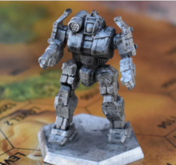 Battletech Miniatures: Griffin GRF-1N Mech - 55 Tons – TRO Succession Wars
