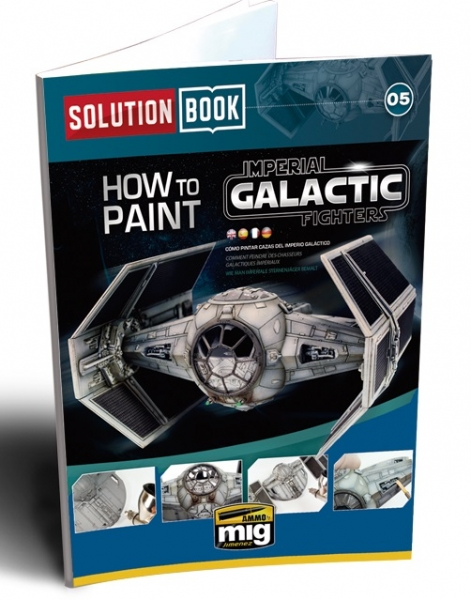 AMMO: Solution Book - How to Paint Imperial Galactic Fighters