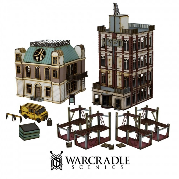 Warcradle Scenics: Super City - Downtown Set