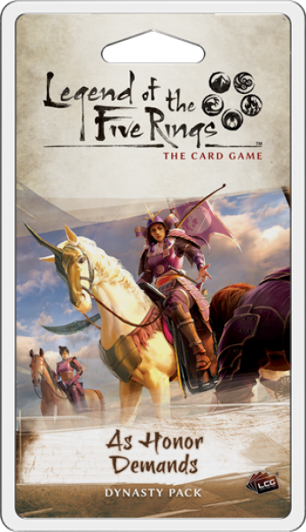 Legend of the Five Rings LCG: As Honor Demands