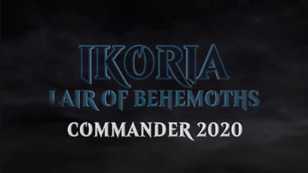 Magic the Gathering: Ikoria - Lair of Behemoths Commander Deck (1)
