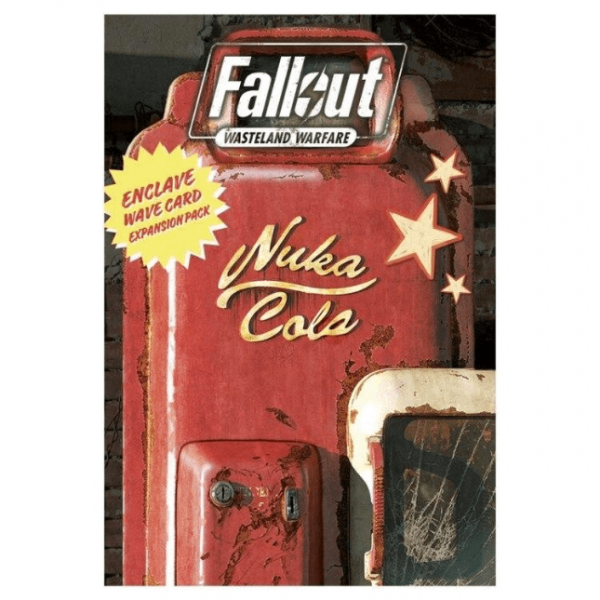 Fallout RPG: Wasteland Warfare - Enclave Wave Card Expansion Pack