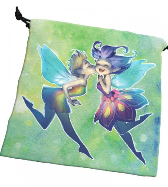Deluxe Dice Bag: Happy Faeries