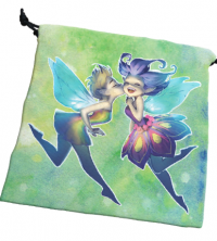 Deluxe Dice Bag: Happy Faeries