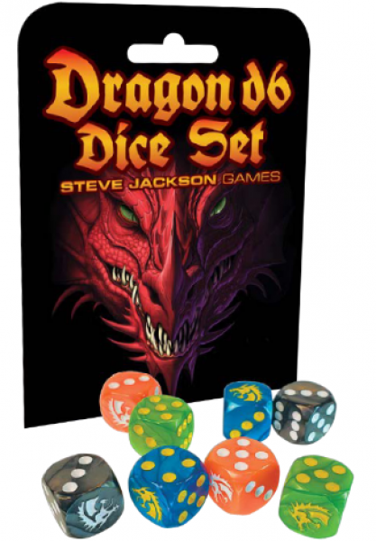 Dragon D6 Dice Set