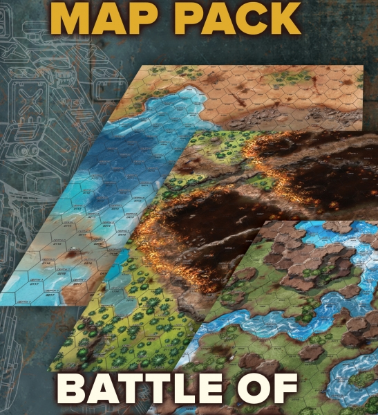 BattleTech: Map Pack - Battle of Tukayyid