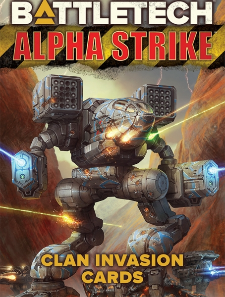 BattleTech: Alpha Strike Game Aids - Clan Invasion Cards