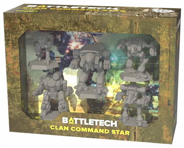 BattleTech: Miniature Force Pack - Clan Command Star