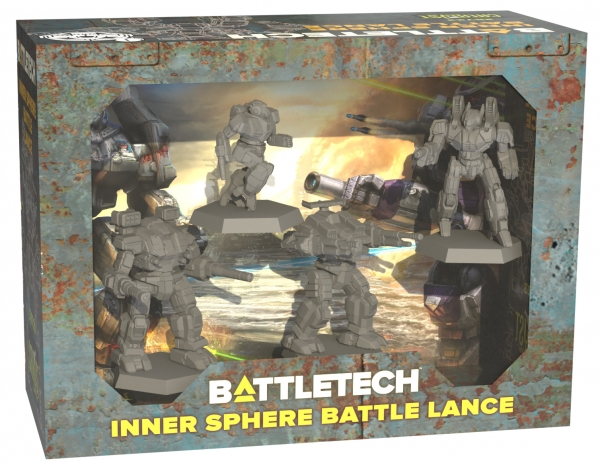 BattleTech: Miniature Force Pack - Inner Sphere Battle Lance