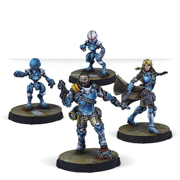 Infinity (#825):  PanOceania Support Pack