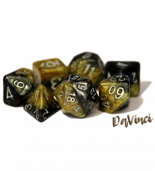 Halfsies Dice: DaVinci - Upgraded Dice Case