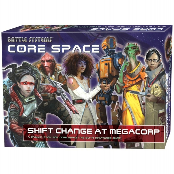 Core Space: Shift Change at MegaCorp