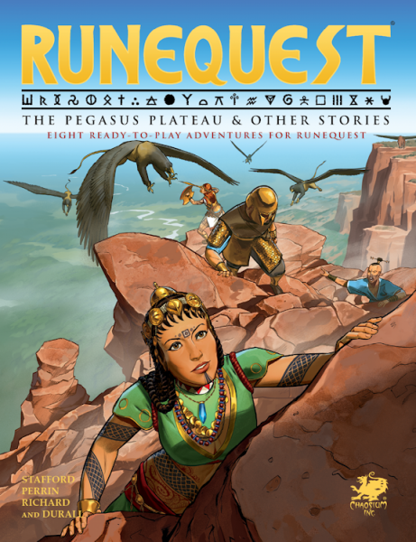 RuneQuest RPG: The Pegasus Plateau & Other Stories (HC)