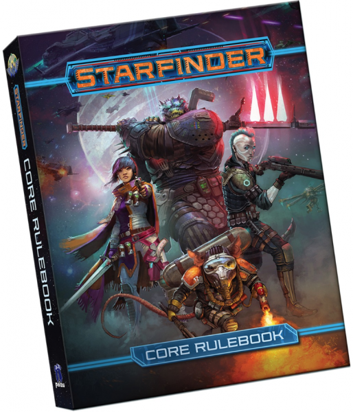 Starfinder RPG: Core Rulebook Pocket Edition