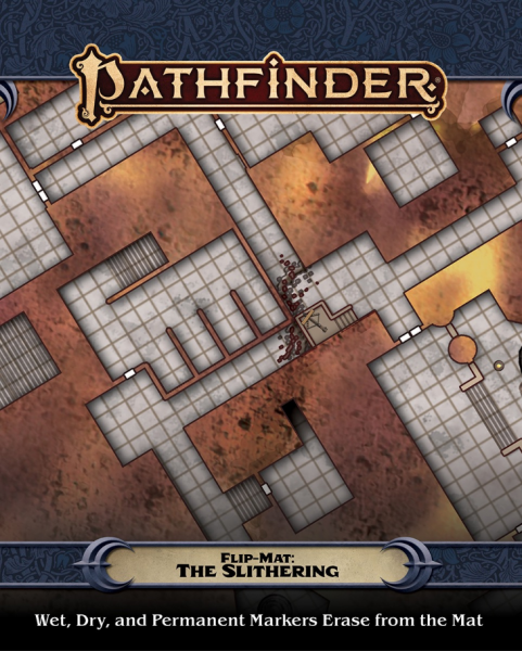 Pathfinder RPG: (Flip-Mat) The Slithering