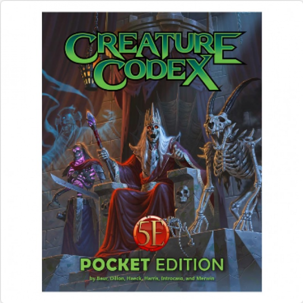 Creature Codex Pocket Edition (5E)