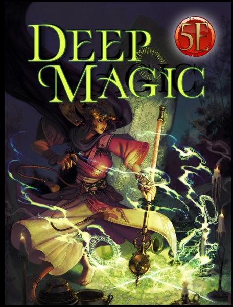 Dungeons & Dragons RPG: Deep Magic for 5th Edition (5E)