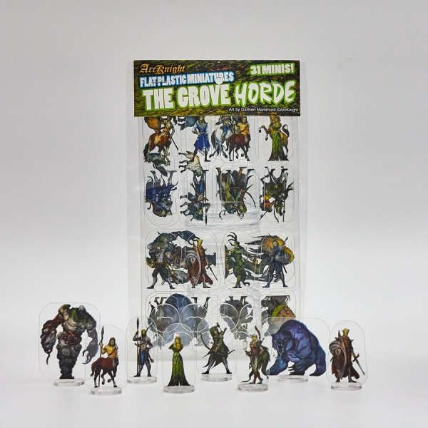 Flat Plastic Miniatures: The Grove Horde