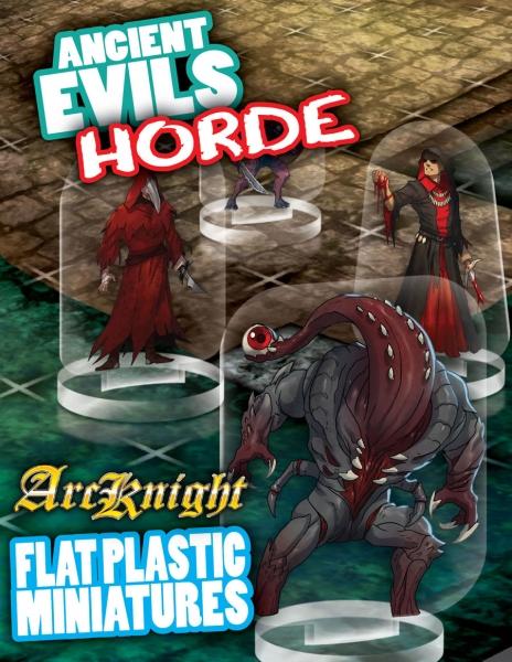 Flat Plastic Miniatures: Ancient Evils Horde