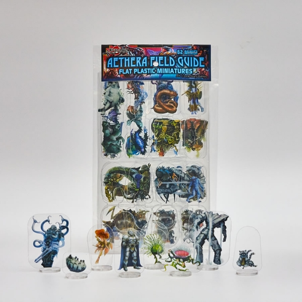 Flat Plastic Miniatures: Legendary Games Aethera Field Guide