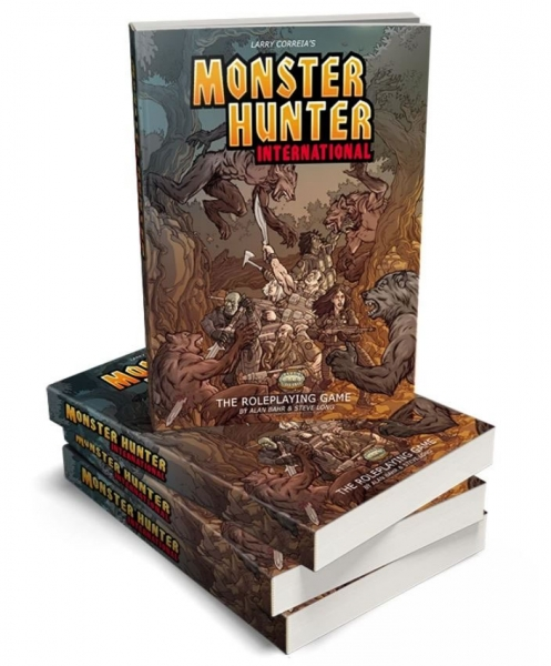 Savage Worlds RPG: Monster Hunter International