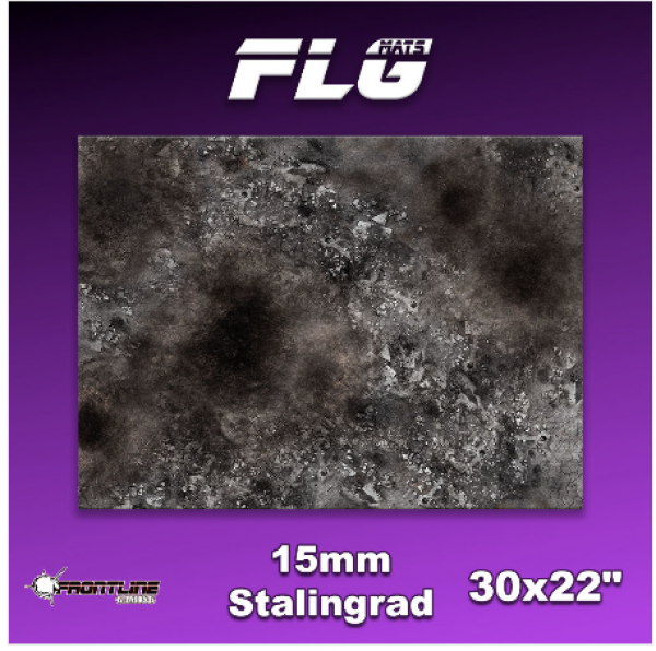 Frontline Gaming Mats: 15mm Stalingrad 30'' x 22'' (Kill Team)