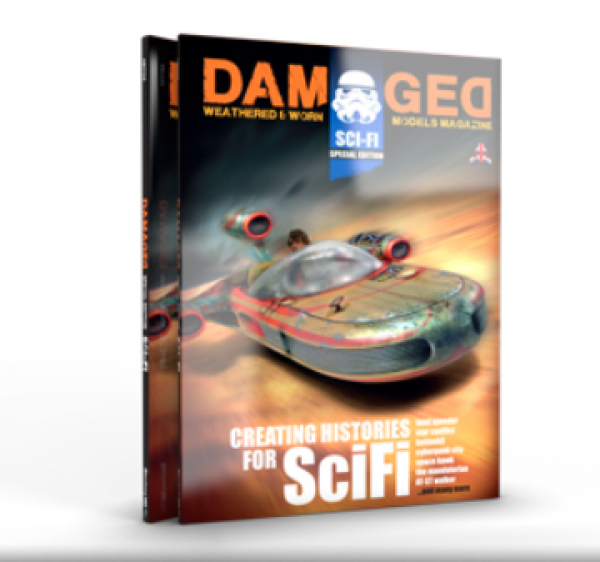 Damaged Magazine: Creating Histories for Sc-fi Special Issue