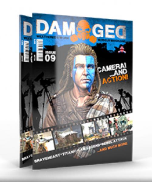 Damaged Magazine: Issue 09