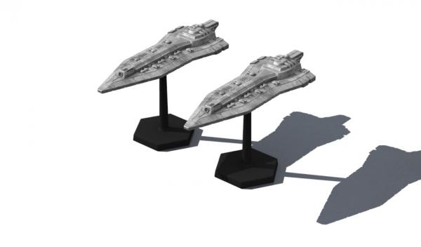 Traveller Miniatures: Imperial Atlantic CA (2)