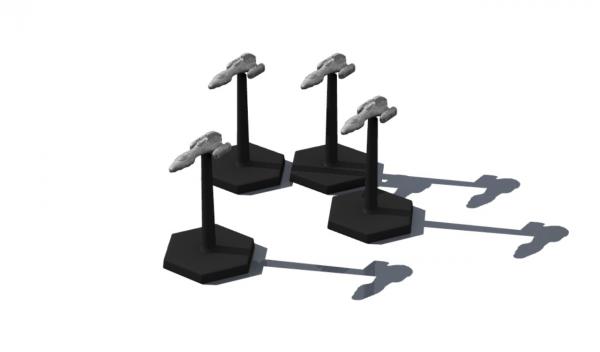 Traveller Miniatures: Zhodani Vlezhdatl CS (4)