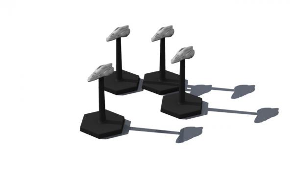 Traveller Miniatures: Aslan Elsyel DL (4)