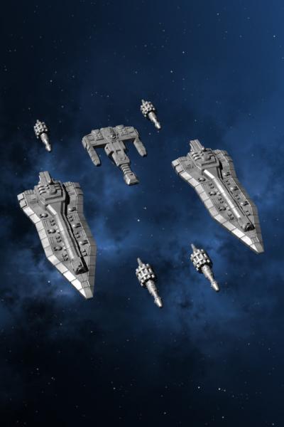 Traveller Miniatures: Imperial Reinforcements 1