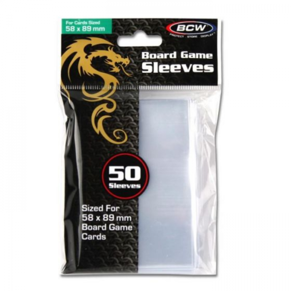 Card Game Sleeves: Std Chimera (50) (58mm x 89mm)
