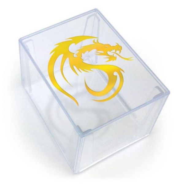 Card Game Deck Boxes: Deck Keeper - Clear