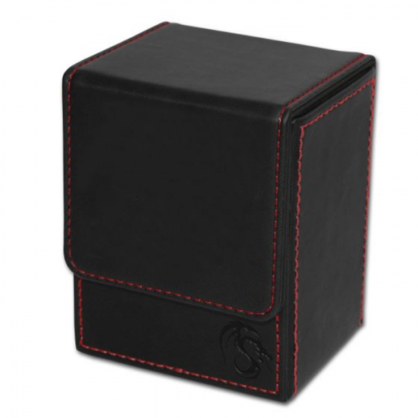 Card Game Deck Boxes: LX Deck Case - Black
