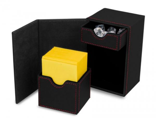 Card Game Deck Boxes: LX Deck Vault 80 - Black