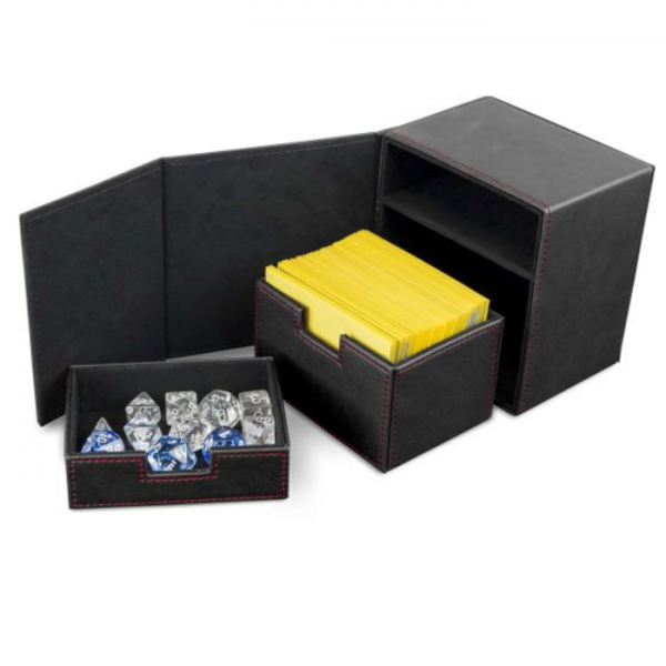 Card Game Deck Boxes: LX Deck Vault 100 - Black